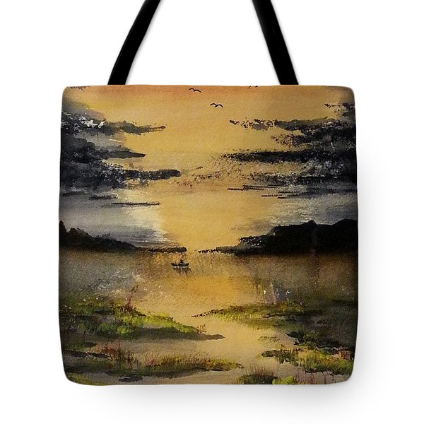 Last One Out Tote Bag