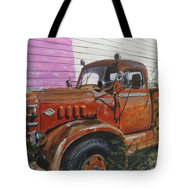Tote Bag featuring the painting Last Parade by William Brody