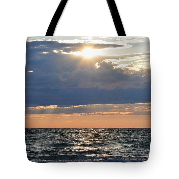 Last Rays Of Sunlight Tote Bag