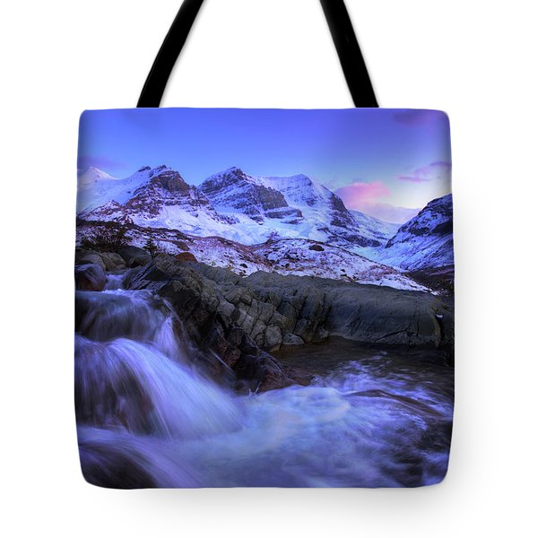Last Rays On Andromeda Tote Bag by Dan Jurak