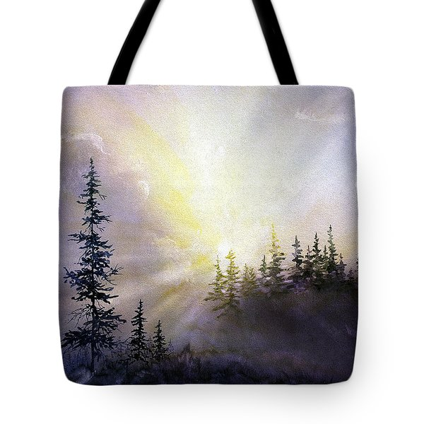 Last Rays Sunset Tote Bag
