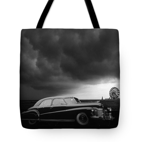 Roadside Attraction Tote Bag by Larry Butterworth