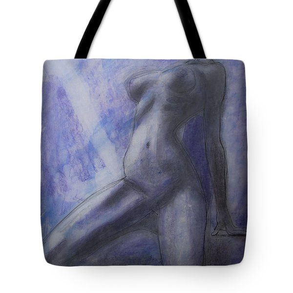 Tote Bag featuring the painting Last Ride Of The Day by Jarko Aka Lui Grande