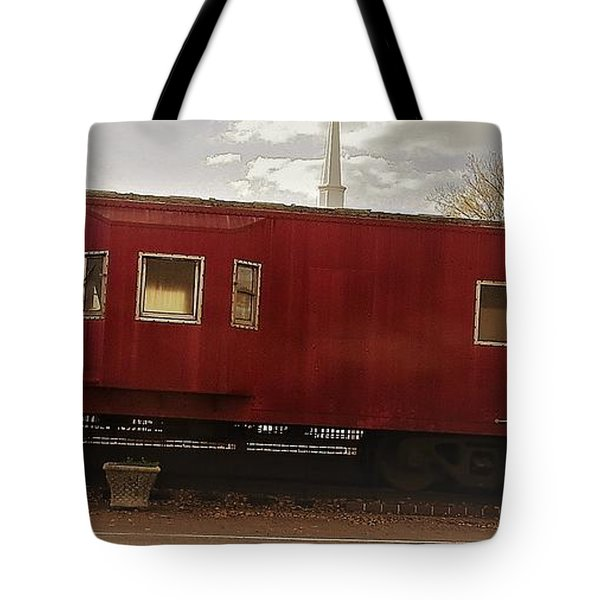 Tote Bag featuring the photograph Last Stop by Aaron Martens