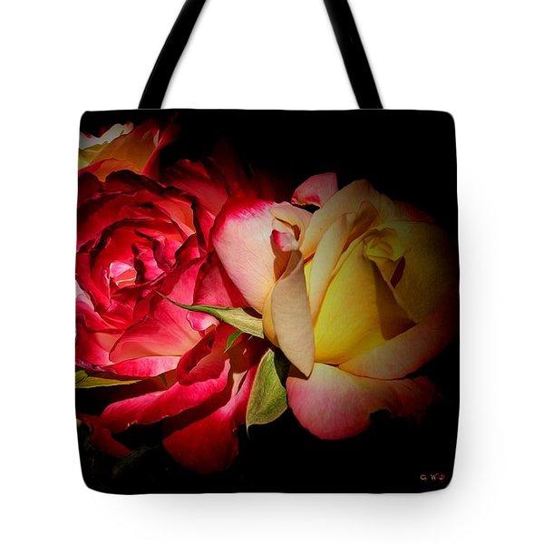 Last Summer Roses Tote Bag