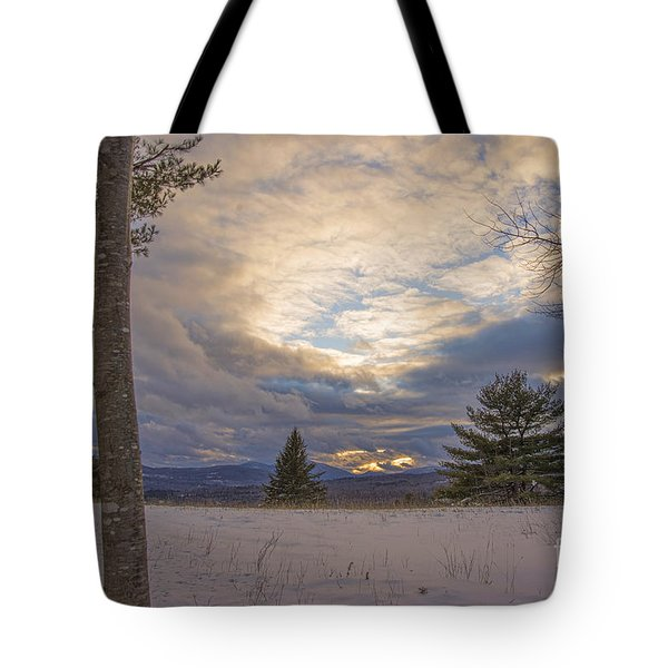 Last Sunset Of 2015 Tote Bag by Alana Ranney