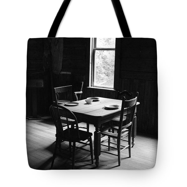Last Supper At Garnet Tote Bag