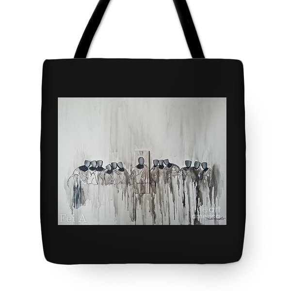 Last Supper Tote Bag by Fei A