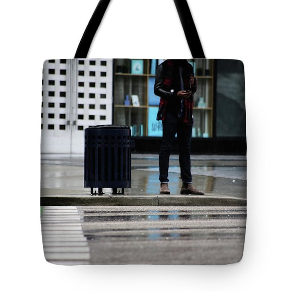 Last Text  Tote Bag by Empty Wall