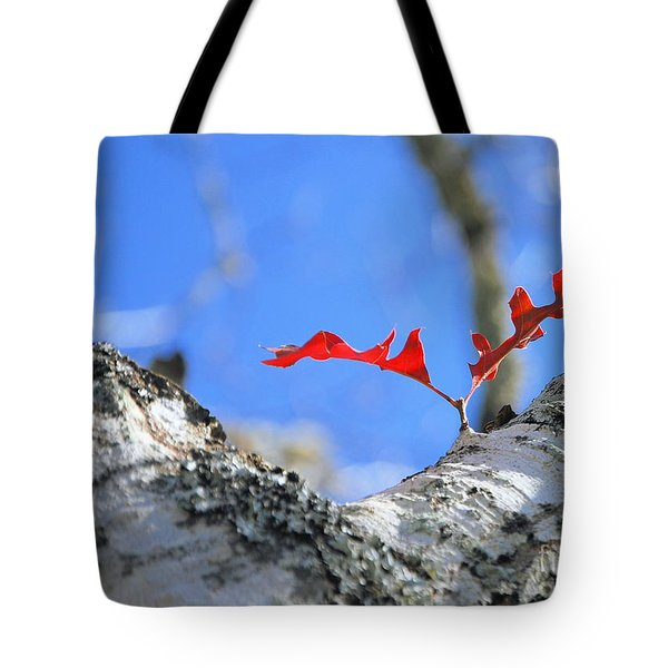 Last To Leaf Tote Bag