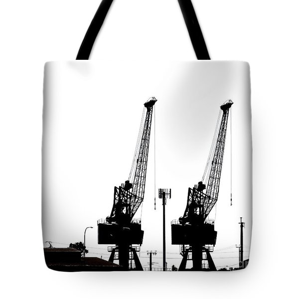 Tote Bag featuring the photograph Last To The Ark by Stephen Mitchell