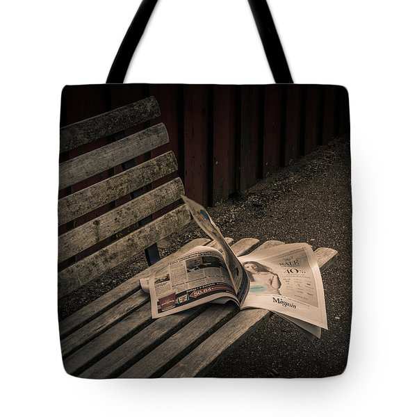 Last Train Tote Bag