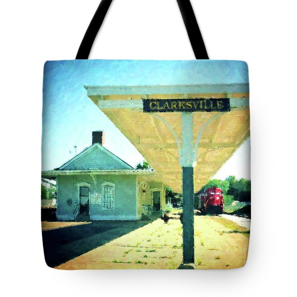 Last Train To Clarksville Tote Bag