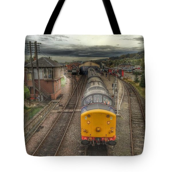 Last Train To Manuel Tote Bag