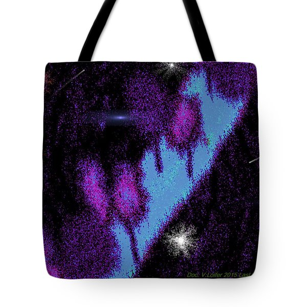 Tote Bag featuring the digital art Last Way by Dr Loifer Vladimir