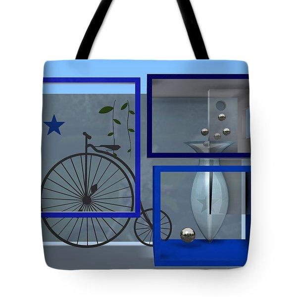 Last Years In Blue Tote Bag