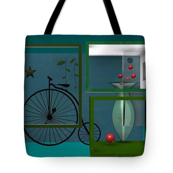 Last Years In Green Tote Bag