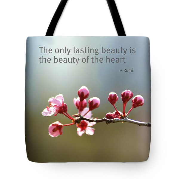 Lasting Beauty Tote Bag