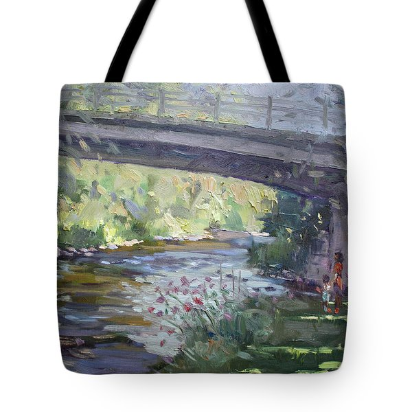 Late Afternoon At Mcnab Park Tote Bag