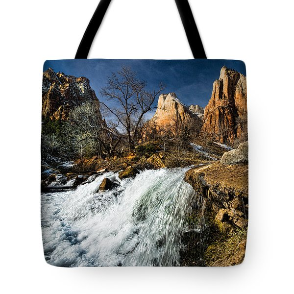 Late Afternoon At The Court Of The Patriarchs Tote Bag by Christopher Holmes
