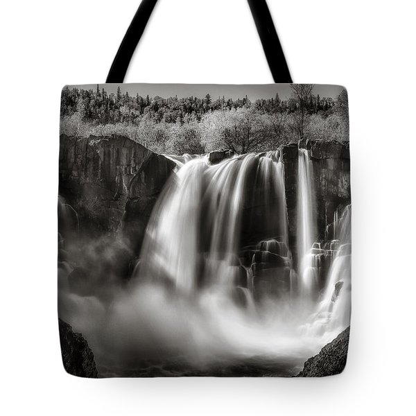 Late Afternoon At The High Falls Tote Bag