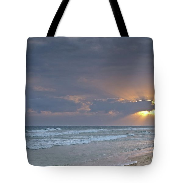 Late Afternoon In Ilha Deserta. Algarve Tote Bag