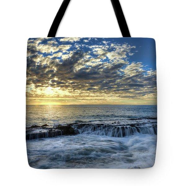Late Afternoon In Laguna Beach Tote Bag by Eddie Yerkish