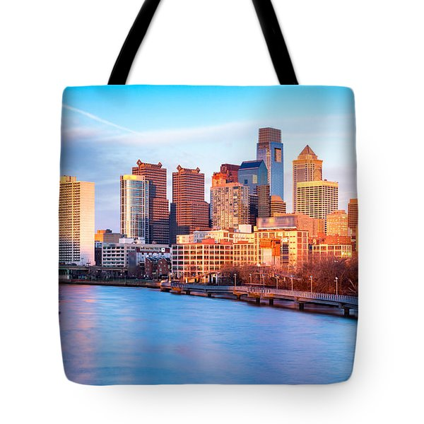 Late Afternoon In Philadelphia Tote Bag