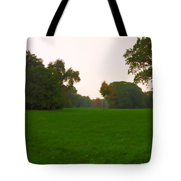 Late Afternoon In The Park Tote Bag