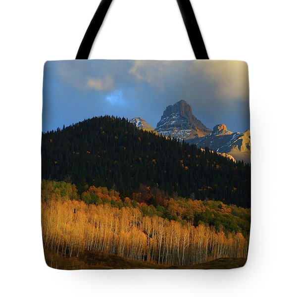 Late Afternoon Light On The San Juans Tote Bag