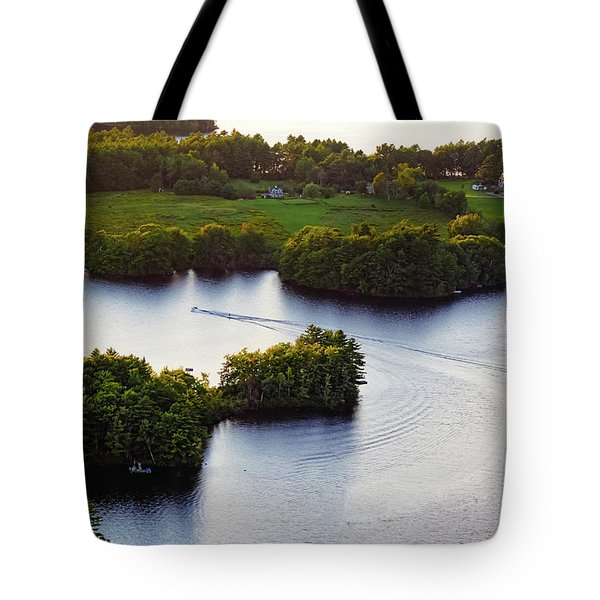 Late Afternoon On Lake Megunticook, Camden, Maine -43988 Tote Bag