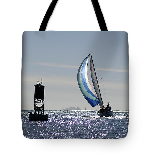Late Afternoon Sail Tote Bag