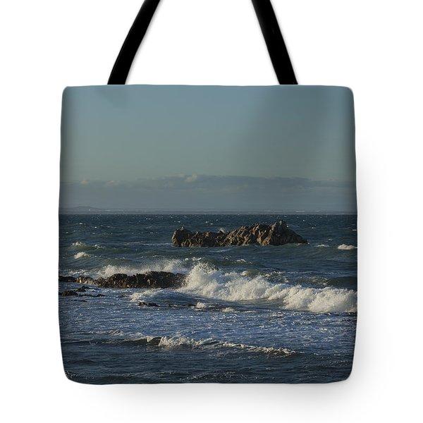 Late Afternoon Waves Tote Bag