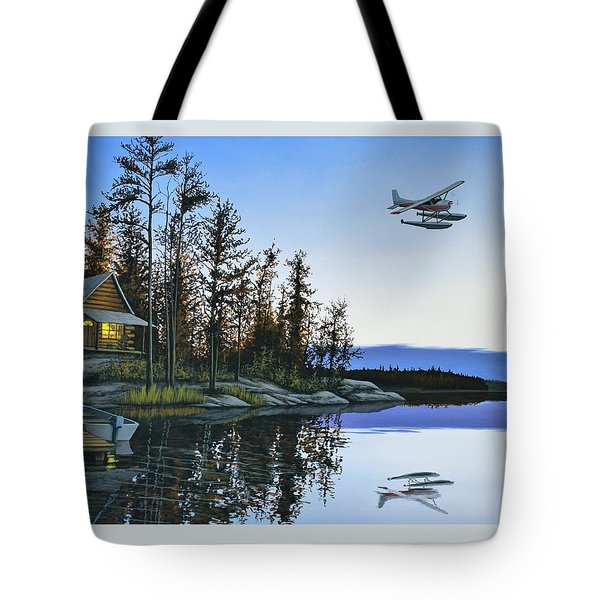 Late Arrival Tote Bag