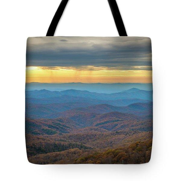 Late Autumn Vista Tote Bag