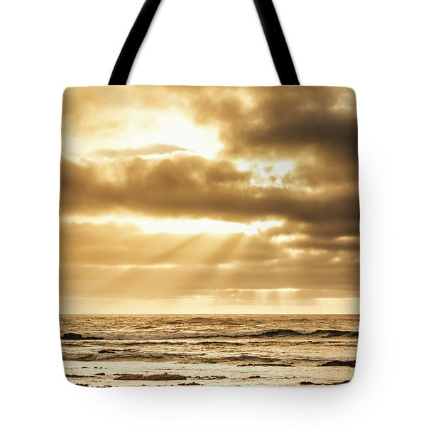 Late Day Rays Tote Bag