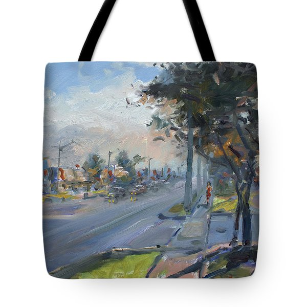 Late Evening In Guelph Street Georgetown Tote Bag