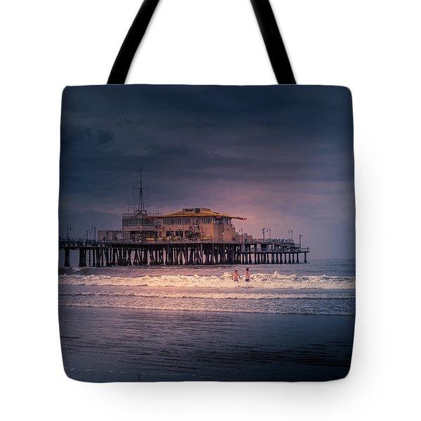 Late Evening Swim Tote Bag