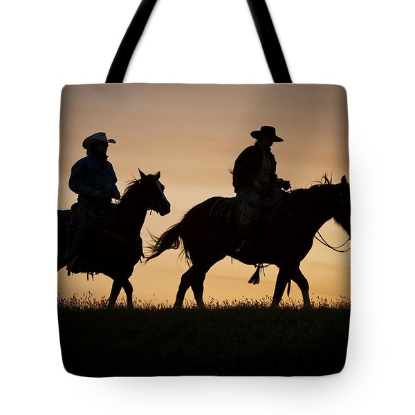 Late For Supper Tote Bag