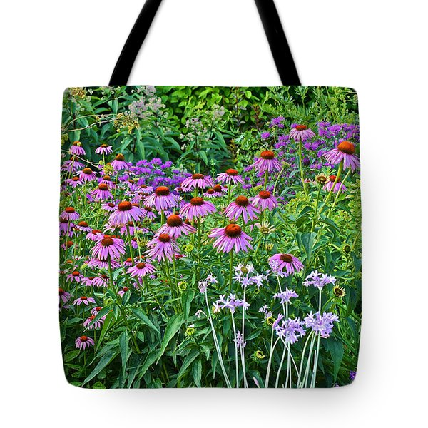 Late July Garden 2 Tote Bag