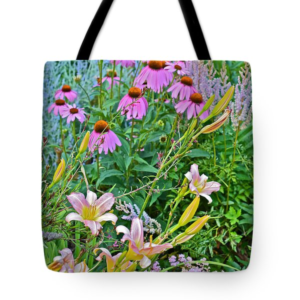 Late July Garden 3 Tote Bag