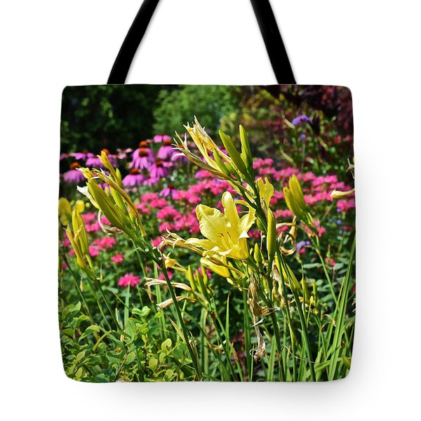 Late July Garden 1 Tote Bag