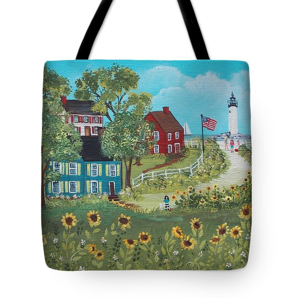 Late July Tote Bag