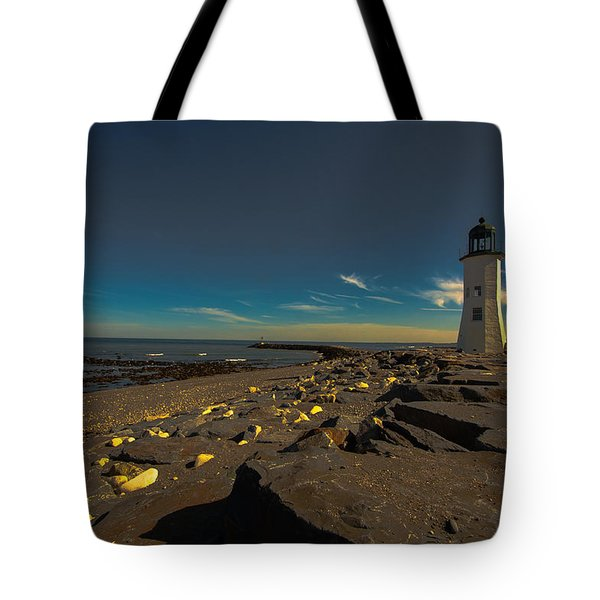Late Light At The Light Tote Bag