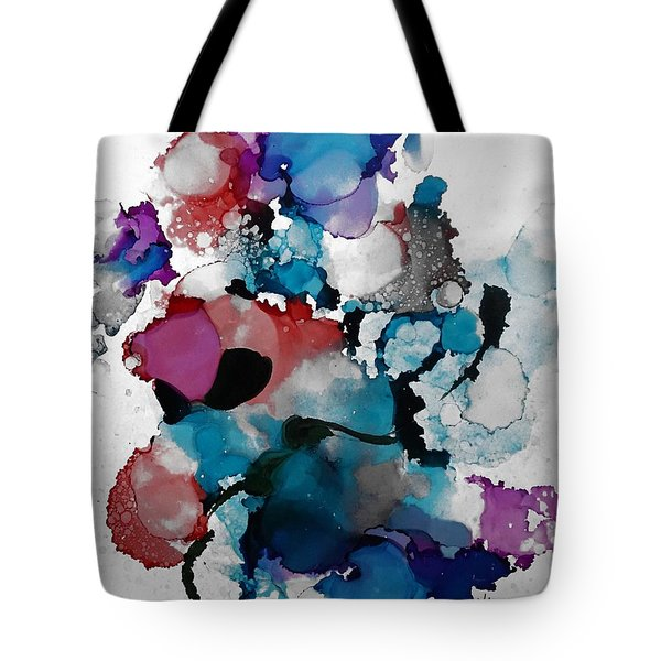 Late Night Magic Tote Bag by Alika Kumar