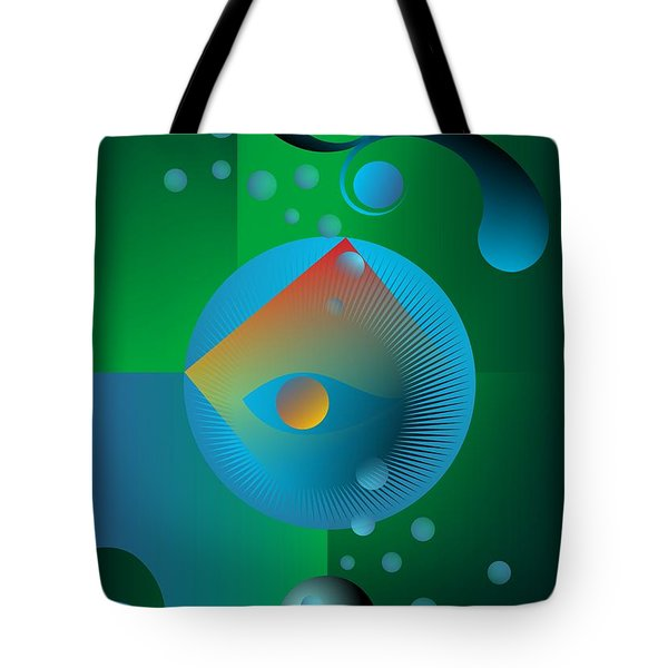 Tote Bag featuring the digital art Late Night Prayer by Leo Symon