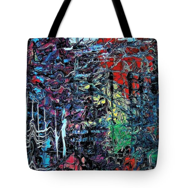 Late Night Reflections Tote Bag