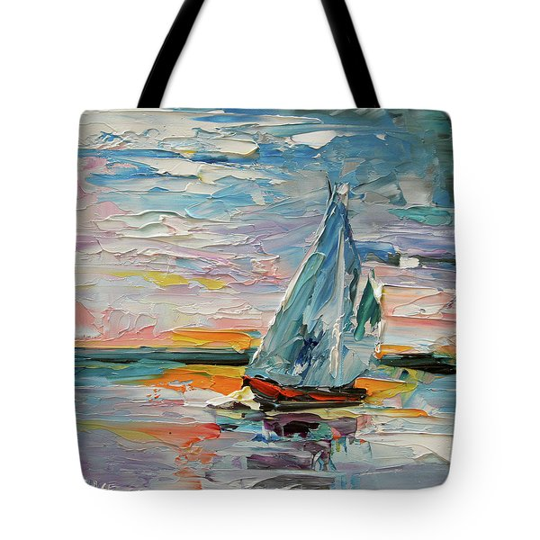 Late Night Sail Tote Bag