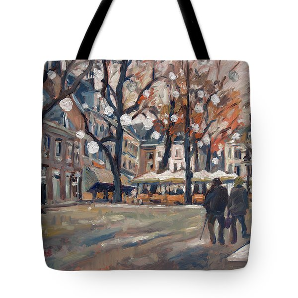 Late November At The Our Lady Square Maastricht Tote Bag