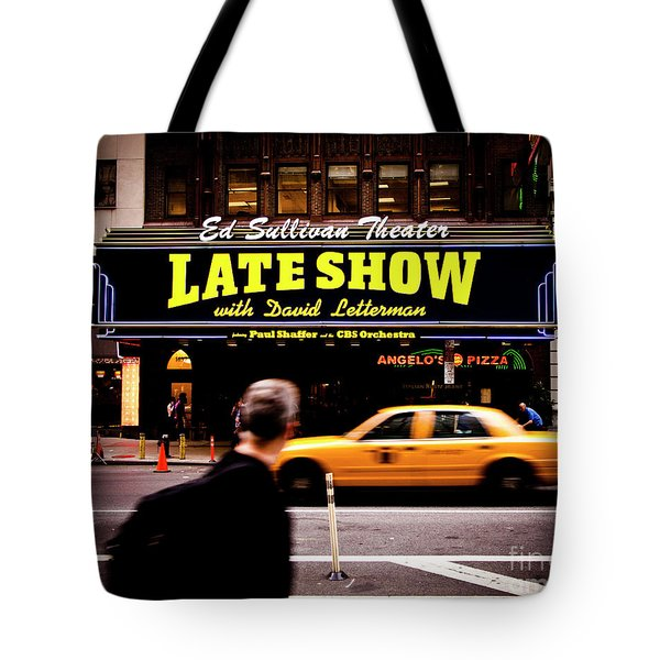 Late Show Tote Bag
